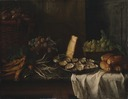 Breakfast Piece with Oysters (François Desportes) - Nationalmuseum - 17801.tif
