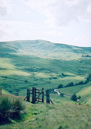Cheviot Hills - Hedgehope Hill and overlooking the Breamish Valley