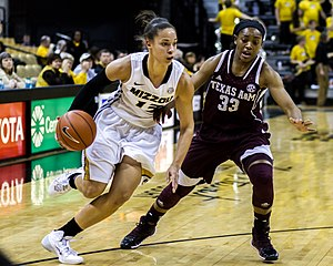 Bri Kulas dribbles vs. Texas A&M.jpg