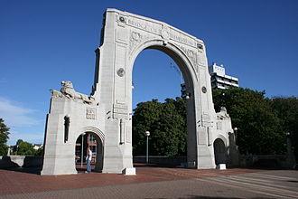 Bridge of Remembrance - Image: Bridge of Remembrance, Christchurch