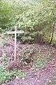 Bridleway junction marker in Conduit Wood - geograph.org.uk - 1558590.jpg
