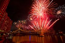 The finale of The Brisbane Festival, a major cultural event