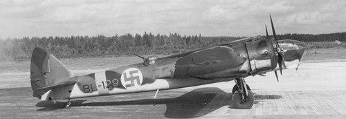 Bristol Blenheim Mk. IV of the Finnish Air Force