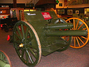 "75 mm Gun M1917 - ""Minnie"" at United States Army Ordnance Museum, MD"