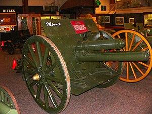 "75 mm Gun M1917 - ""Minnie"" at United States Army Ordnance Museum, MD"