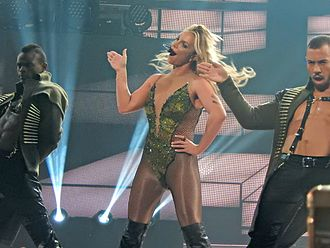 Glory (Britney Spears album) - Spears performing at the 2016 Apple Music Festival at the Roundhouse in Camden Town, London, England, United Kingdom on September 27, 2016.