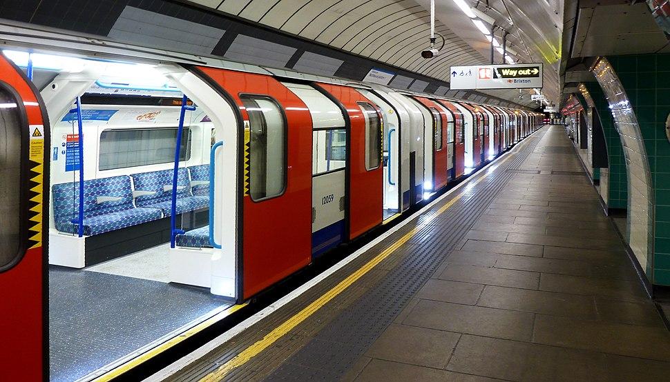 Brixton Tube Station - Victoria Line
