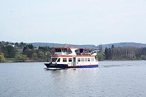 Brno, přehrada, U kotvy, loď Lipsko (01).jpg