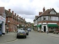 Brockenhurst village centre at Brookley Road, New Forest - geograph.org.uk - 43422.jpg