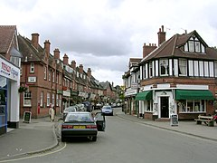 Brockenhurst village centre at Brookley Road, New Forest - geograph.org.uk - 43422.jpg