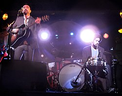 Broken Bells live i Webster Hall, New York City