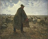 Brooklyn Museum - Shepherd Tending His Flock - Jean-François Millet.jpg