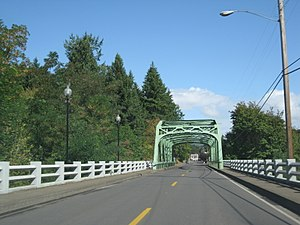 Stand by Me (film) - Bridge on the road leading into Brownsville, Oregon, which was used for the penultimate scenes (2009)