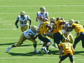 Bruins on offense at UCLA at Cal 2010-10-09 12.JPG