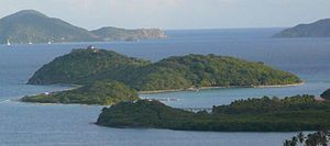 Buck Island, British Virgin Islands - view fro...