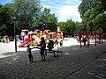 Bucuresti, Romania. PARCUL HERASTRAU. Acum Parcul Regele Mihai I. Loc de joaca pentru copii. (B-II-a-A-18802).jpg