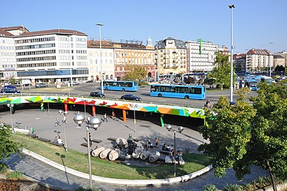 How to get to Boráros Tér with public transit - About the place