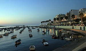 Bugibba harbour evening Malta 2.jpg
