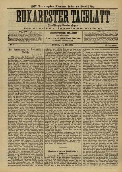 File:Bukarester Tagblatt 1890-05-14, nr. 107.pdf