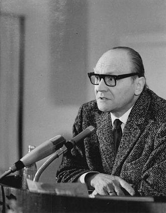 Jurij Brězan - Jurij Brězan in 1967