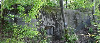 Fortified Area of Silesia - Polish bunker near Lagiewniki, Bytom