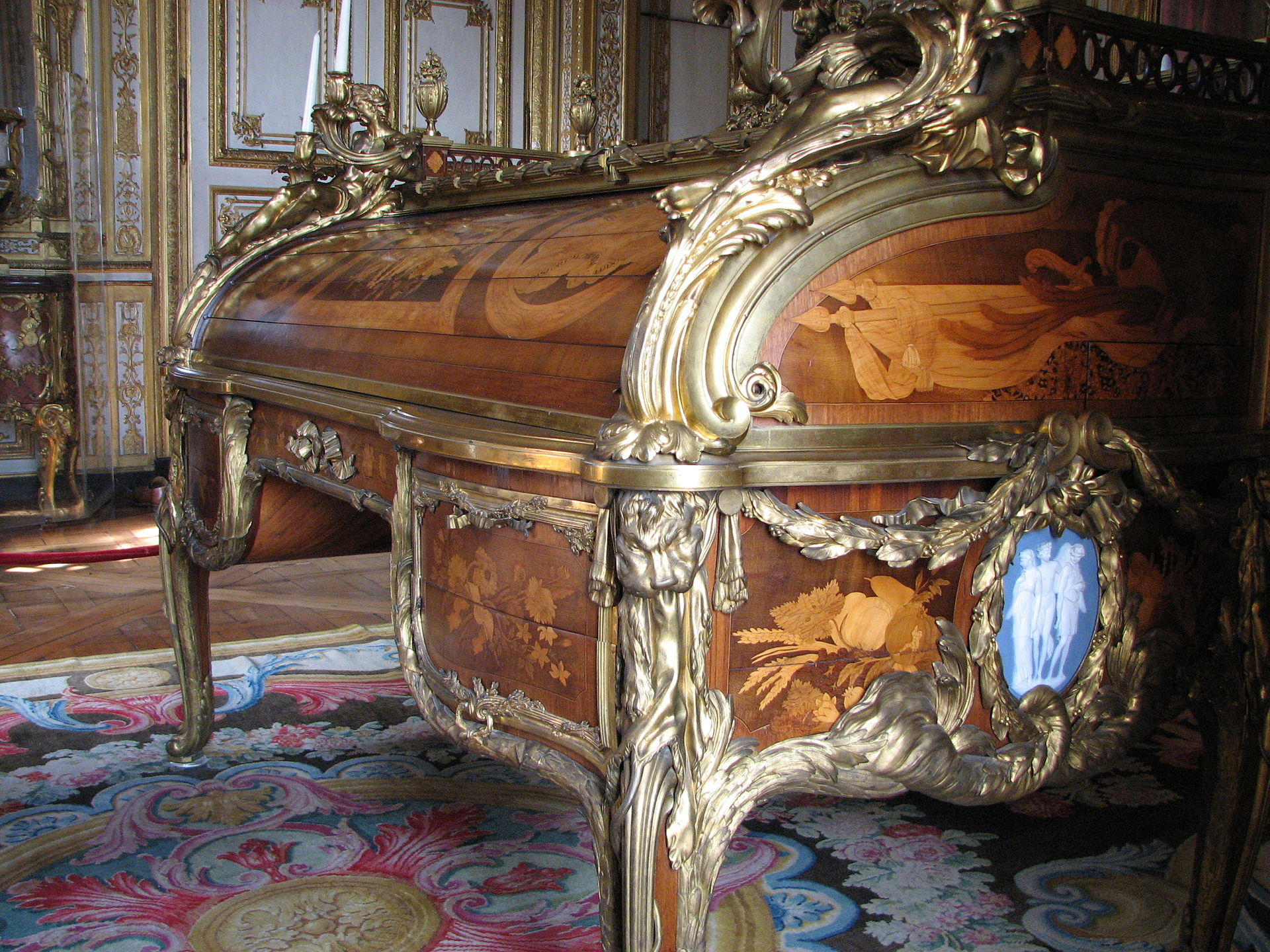 bureau du roi wikipedia. Black Bedroom Furniture Sets. Home Design Ideas