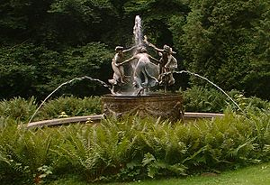 Walter Schott - The original Nymphenbrunnen in Mecklenburg
