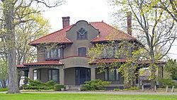 Burroughs-Foland Farm, main house, Livingston, NY.jpg