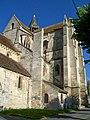 Bury (60), église Saint-Lucien, transept sud-est, façade latérale côté sud-ouest.jpg