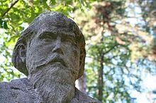 photo: buste de Brahms