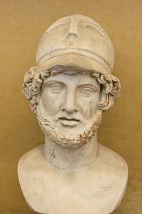 Pericles, importante e influyente político y orador de Atenas en los momentos de la edad de oro de esta ciudad, en ese entonces el centro de cultura más importante del mundo.