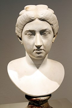 Bust of Crispina, wife of Commodus - Altes Museum - Berlin - Germany 2017 (2).jpg