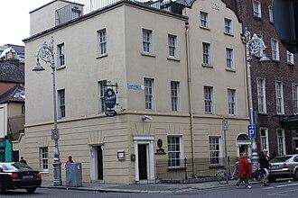 Molesworth Street, Dublin - Buswells Hotel on Molesworth Street, Dublin