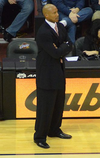 Byron Scott - Scott coaching the Cavaliers in 2012