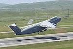 C-5 Galaxy taking off from Travis AFB.jpg