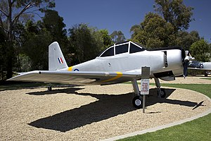 CAC Winjeel - CAC Winjeel CA25-03 A85-403 - RAAF Base Wagga, June 2008