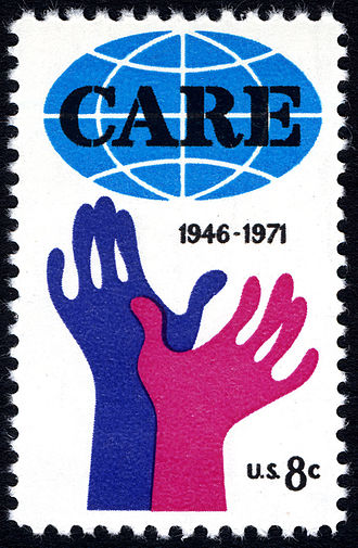 CARE (relief agency) - CARE commemorative U.S. stamp