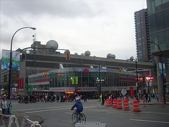 Canadian Broadcasting Corporation - The CBC Regional Broadcast Centre in Vancouver