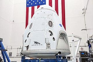 Crew Dragon <i>Endeavour</i> SpaceX Crew Dragon spacecraft