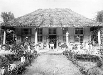 Georg Eberhard Rumphius - Rumphius's Ambon house in the 1910s.