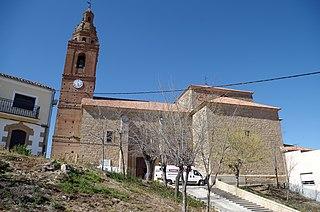 Cañizal Place in Castile and León, Spain