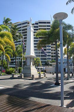 2ad1bc7c5b Cairns War Memorial - Wikipedia