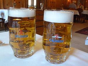 Calanda Bräu - Calanda beer