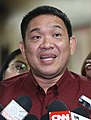 Camarines Sur Rep. Rolando Andaya gives a statement to the media (cropped).jpg