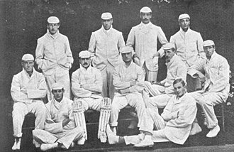 Cambridge University Cricket Club - The cricket team of 1899