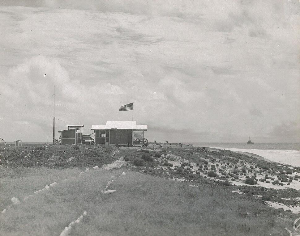 Camp on Baker Island (80-CF-79868-49)