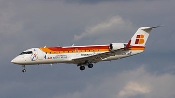 Aircraft: Canadair CL-600-2B19 Regional Jet CR...