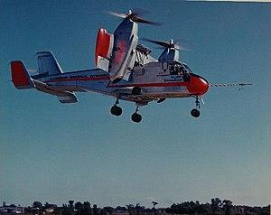 Canadair CL-84 - CL-84 CF-VTO-X during testing