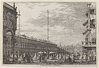 Canaletto, Le Procuratie niove e S. Ziminian V., c. 1735-1746, NGA 771.jpg