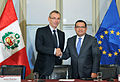 Canciller recibe a Comisario de Desarrollo de la UE y anuncian importante monto de cooperación (14702578626).jpg